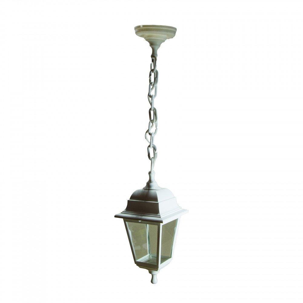 Уличный светильник подвесной Адель НСУ 04-60-001 Адель белый, прозрачное стекло.