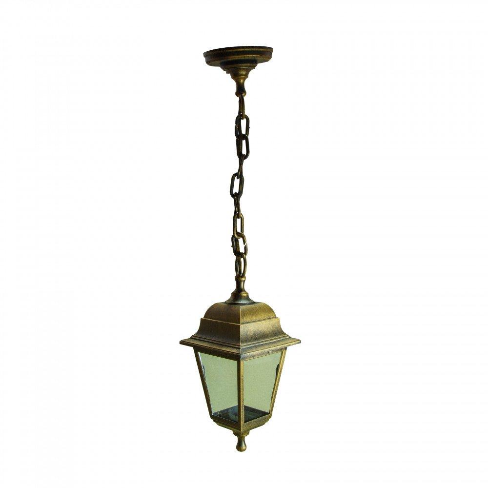 Уличный светильник подвесной Адель НСУ 04-60-001 Адель бронза, прозрачное стекло.