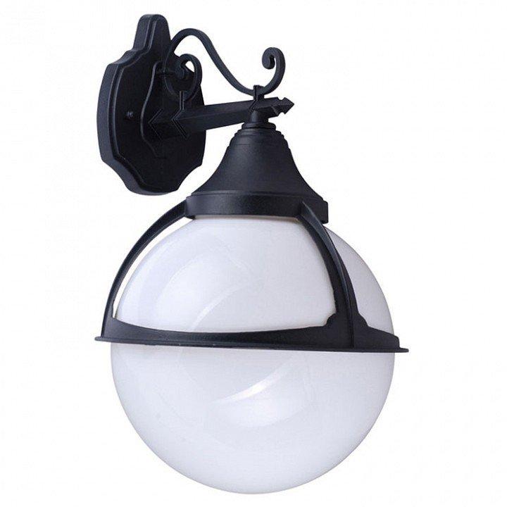 Настенный фонарь уличный Monaco A1492AL-1BK.