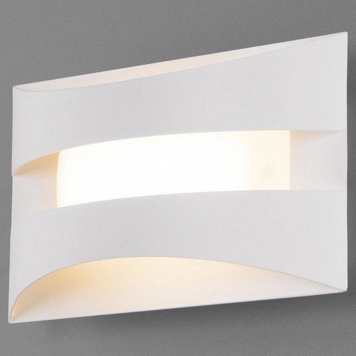 Настенный светодиодный светильник Eurosvet Sanford 40144/1 LED белый.