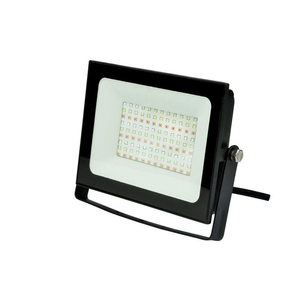 Прожектор светодиодный (UL-00007123) Uniel 50W ULF-F60-50W/RGB IP65 200-240В Black.
