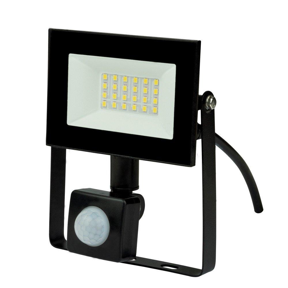 Прожектор светодиодный (UL-00007125) Uniel 30W ULF-F62-30W/6500K Sensor IP54 200-240В Black.