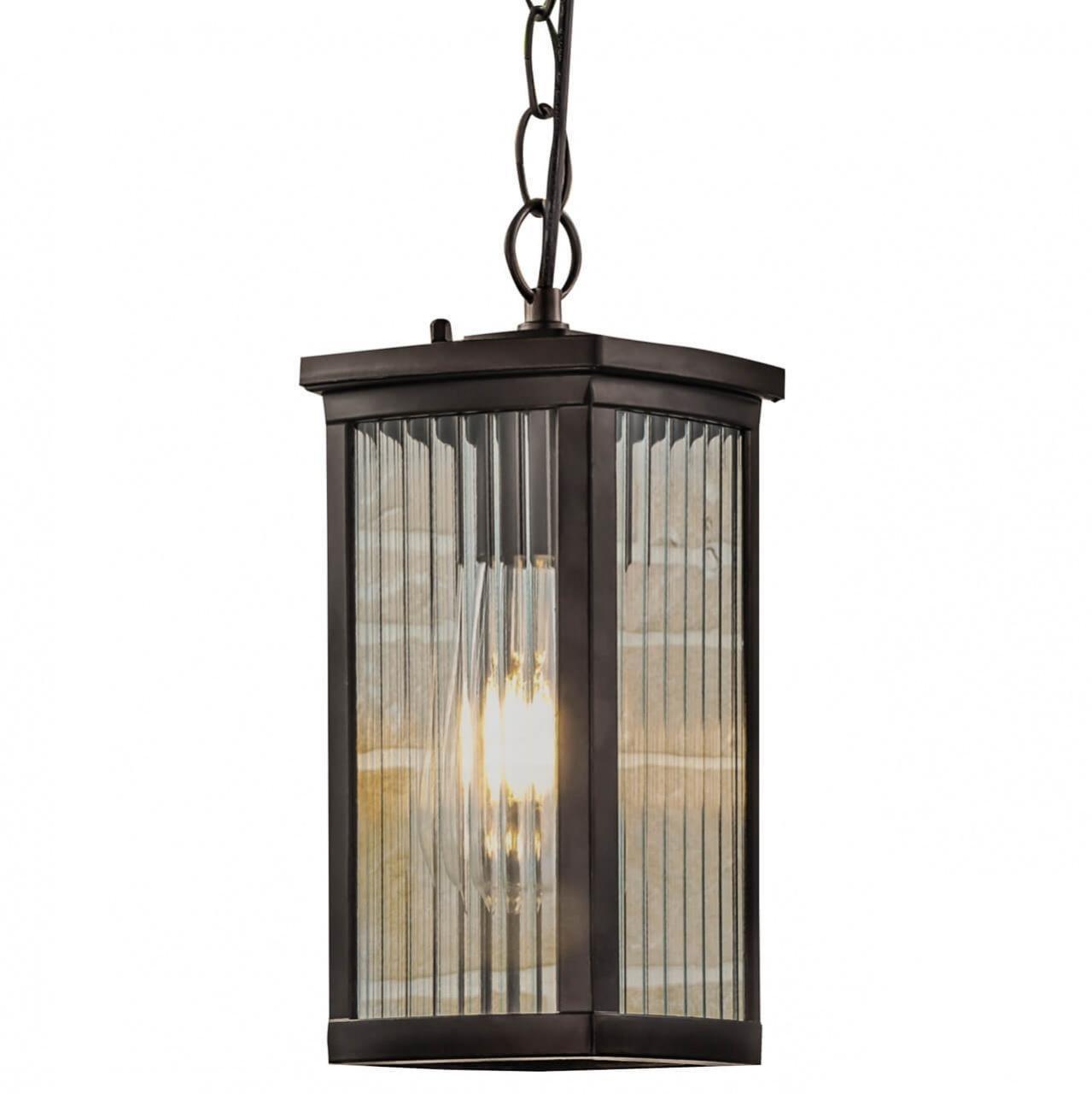 Уличный подвесной светильник Elektrostandard Lame H кофе GL 1006H 4690389148392.